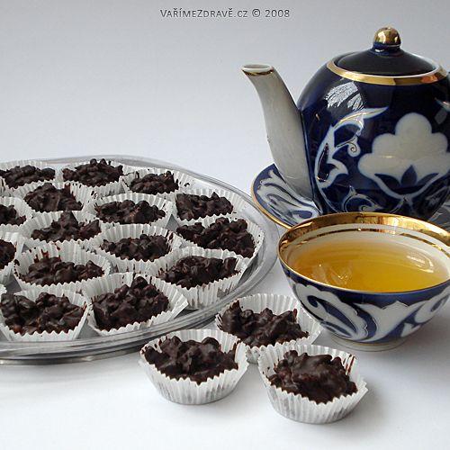 Vaříme zdravě » Čokoládové hrudky