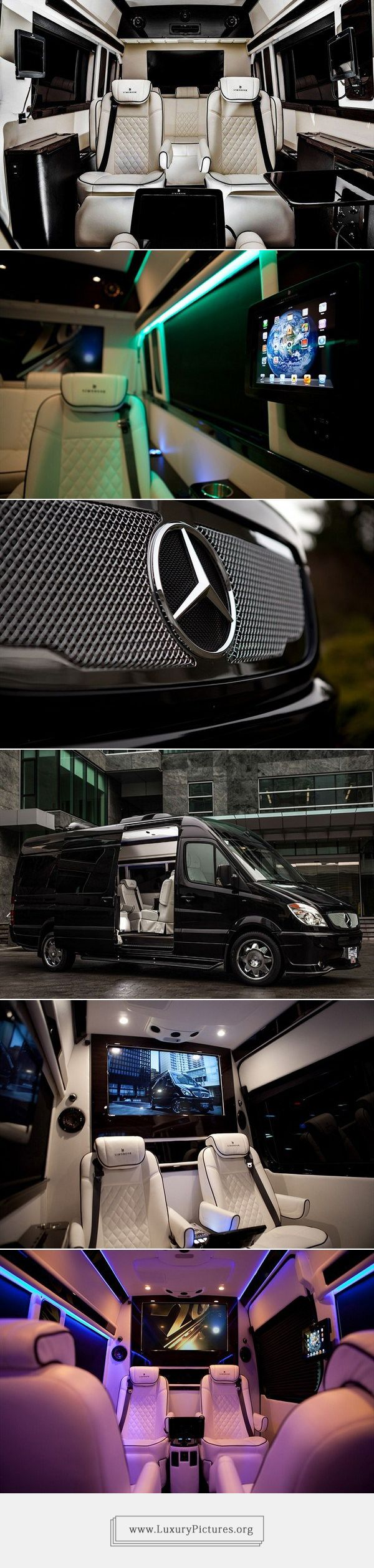 Mercedes-Benz Sprinter 2500 Crew Luxury Van
