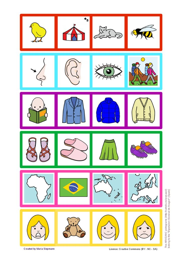 Babel - Free Language/Speech Therapy Resources. Game: which one does not belong? (18 stripes)