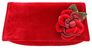 The clutch is in vogue, so you will love our elegant new season's design in luxe velvet.