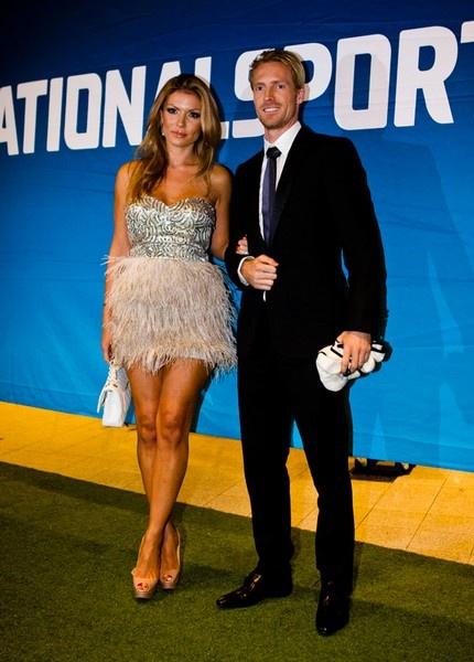 Oksana Andersson and Christian Wilhelmsson