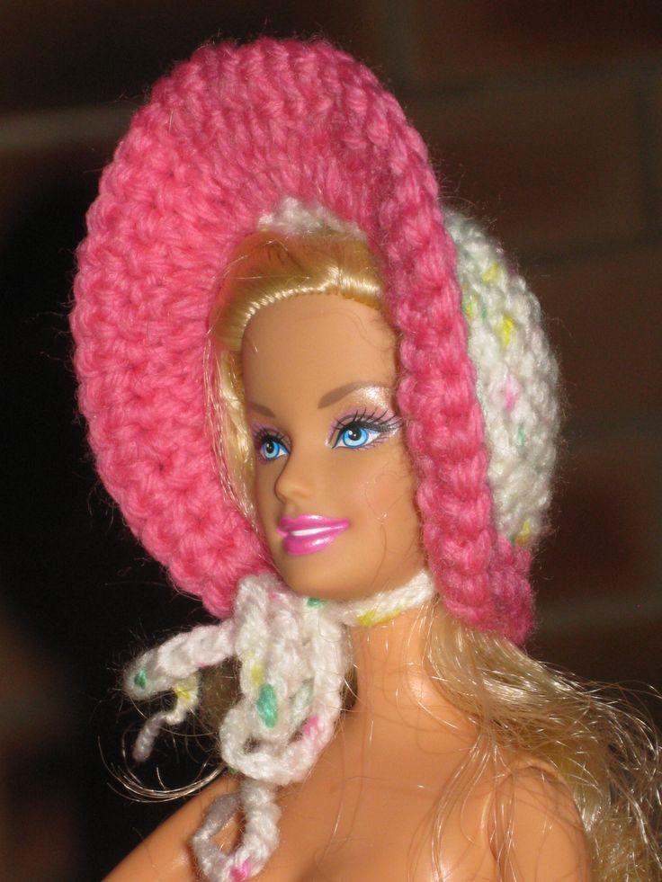 chapeau barbie http://tricotdamandine.over-blog.com/tag/chapeaux%20barbie%20-%20tutos/