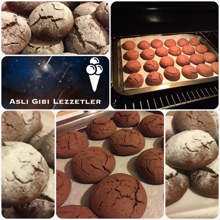 Çikolatalı kurabiye-Aslı Gibi Lezzetler