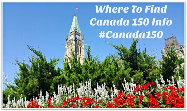 Where to find Canada 150 info