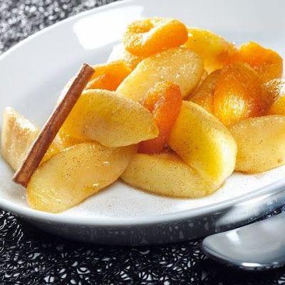 Cinnamon Apples @keyingredient #delicious