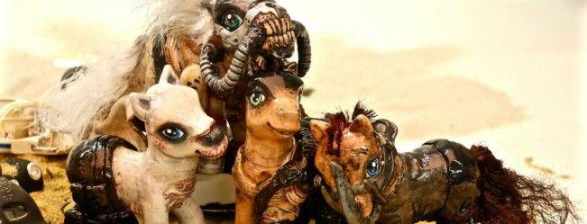 Les personnages de Mad Max Fury Road se transforment en Petits Poneys #MyLittlePoney #MonPetitPoney #MadMax4