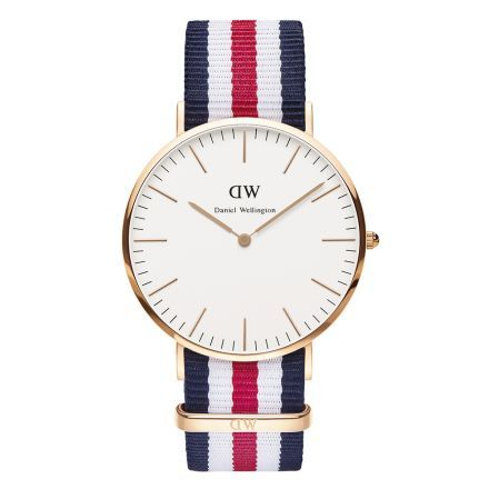 Montre Homme Wellington Canterbury / Rose or