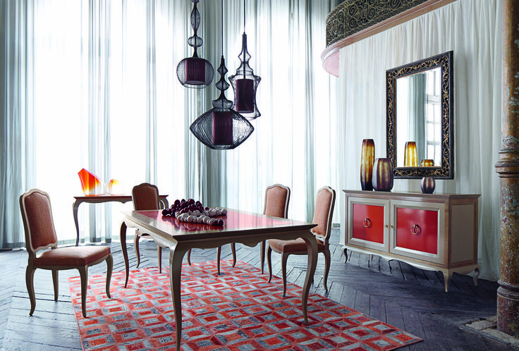 Roche bobois bel ami dining table design pierre dubois for Table 6 kemble inn
