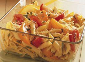 penne pasta tomatoe salad