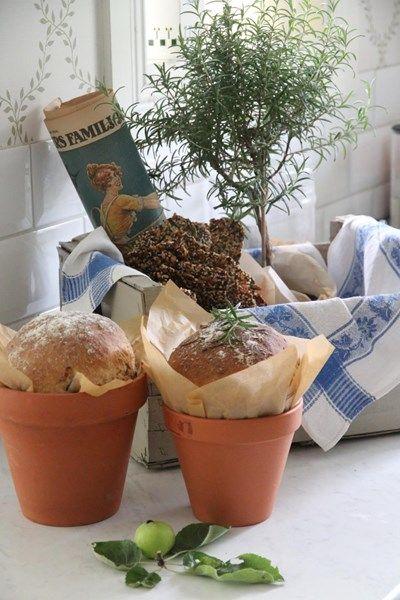 Bröd i kruka