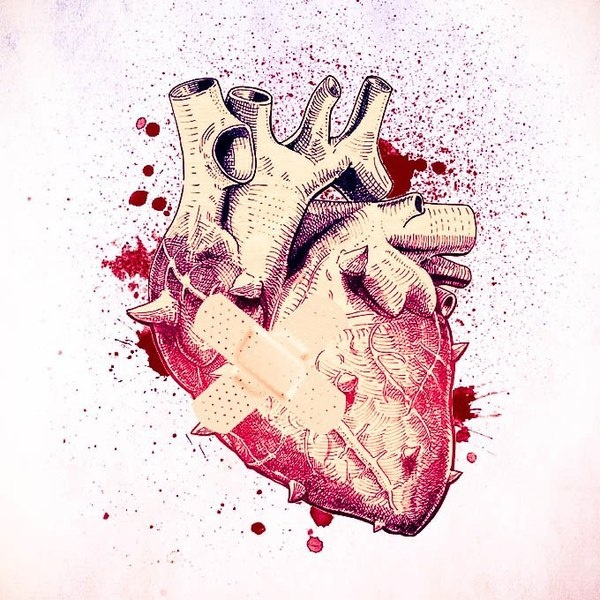 My broken Heart on the Behance Network