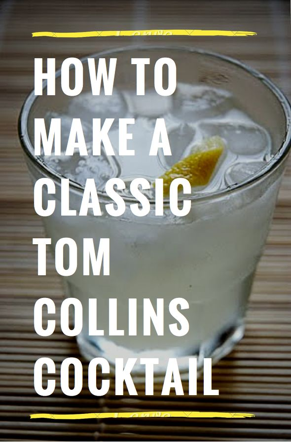 Classic tom collins. blend with a ginger syrup to give it a bit of fire