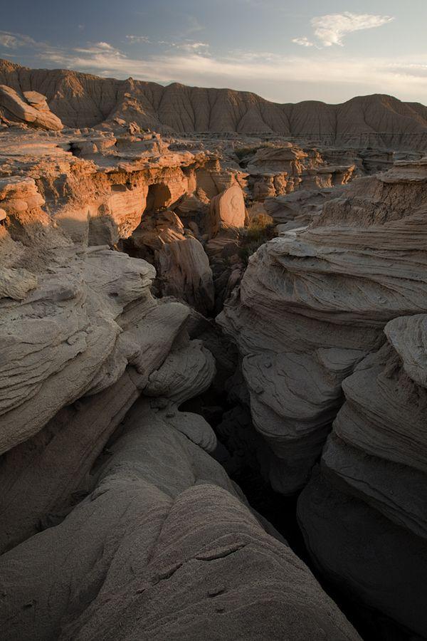 Toadstool Geologic Park, Nebraska; photo by Reagan Davis Pufall, via 500px