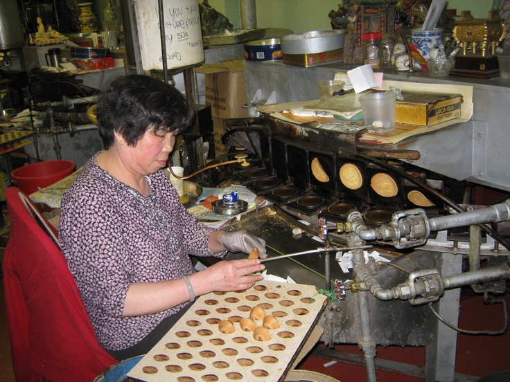 The Golden Gate Fortune Cookie Factory in San Francisco is a must see.