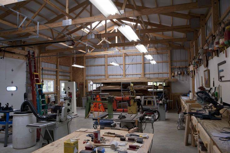Ron S Garage Morton Buildings 3609 Garage Workshop