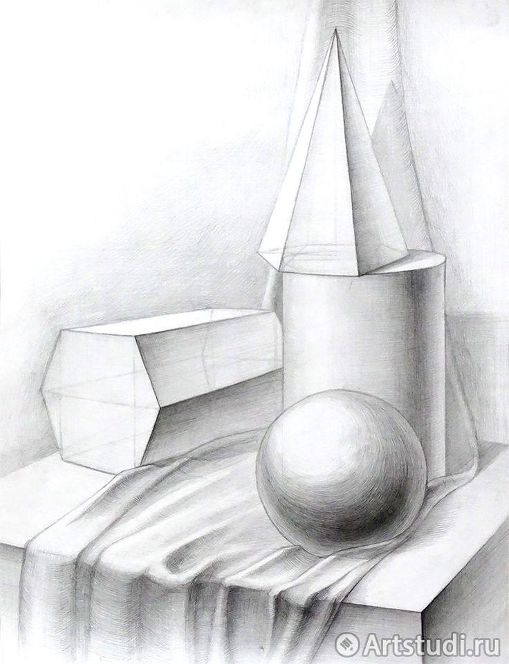 воды картинка геометрических фигур карандашом них, как
