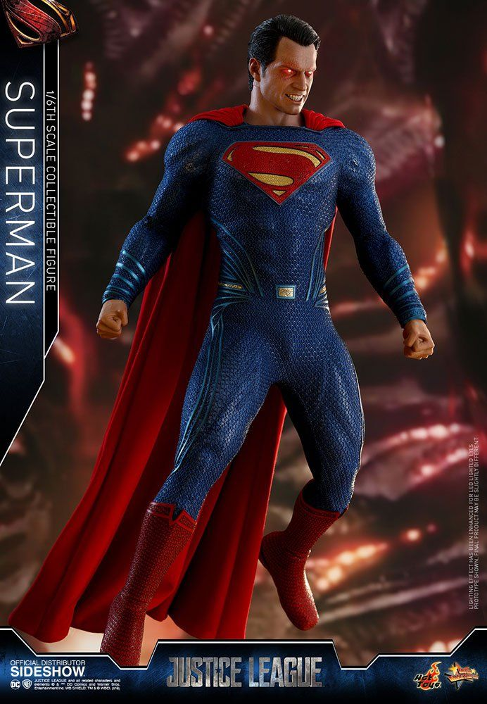 JUSTICE LEAGUE: Hot Toys' New Superman Figure Offers A Seriously Intense Take On Man Of Steel