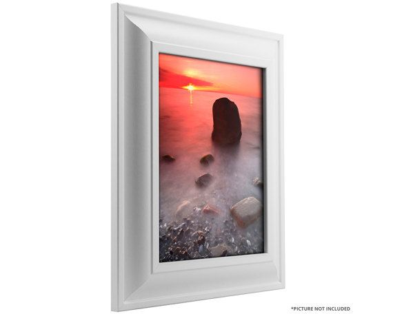 Craig Frames 20x30 Inch White Picture Frame Contemporary