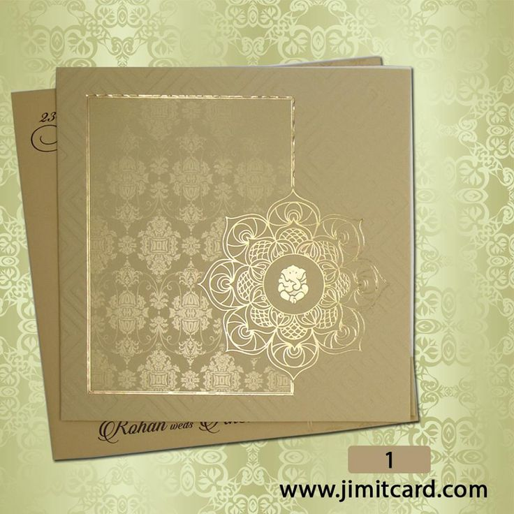 indian wedding invitation wording in gujarati%0A A Indian wedding invitation in rustic golden colour with floral designs  u      Ganesha is perfect for someone who want their wedding invite to simple and