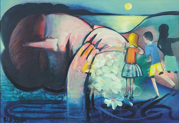Sleeping Figure Charles Blackman