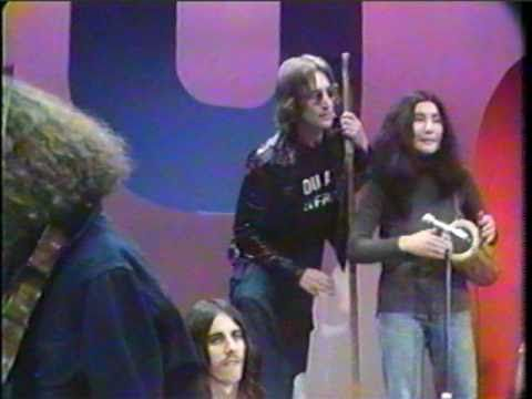 Hippie From New York City (David Peel and The Lower East Side). John Lennon and Yoko Ono.  Also Jerry Rubin.  Strange times.