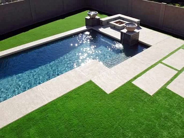 17 Best Images About Artificial Grass By The Pool On