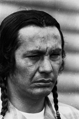 Russel Means AIM activist Wounded Knee 1973