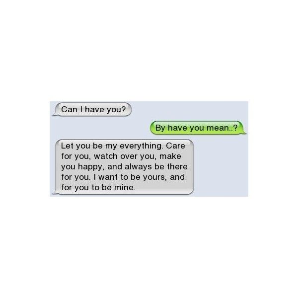 cute text messages | Tumblr ❤ liked on Polyvore