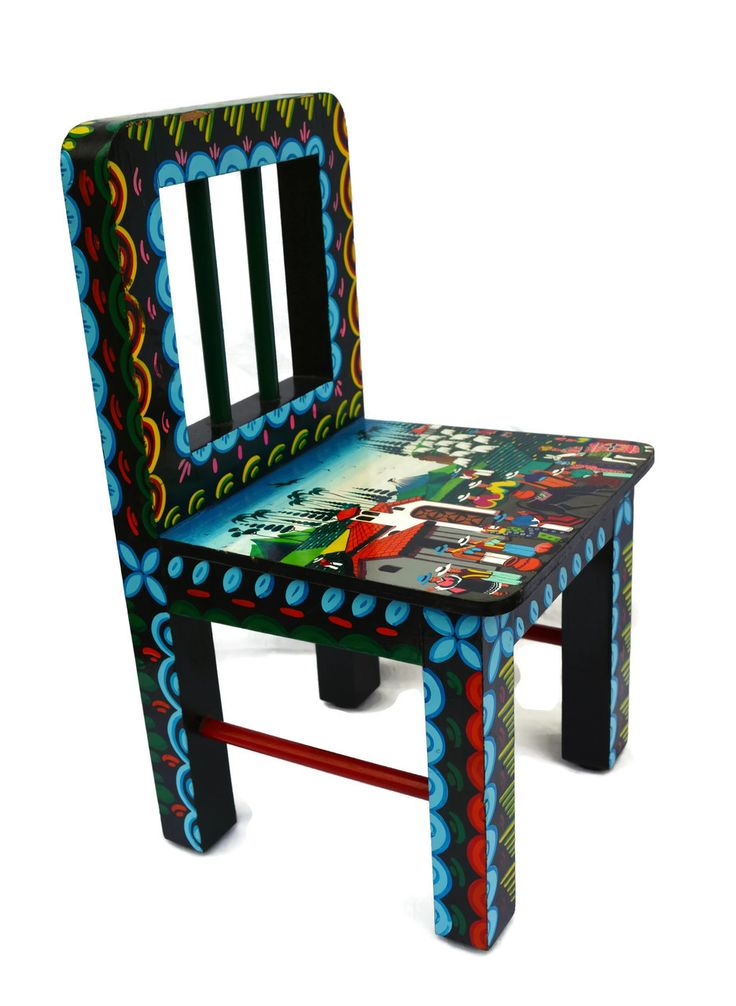 South American Fine Painted Furniture
