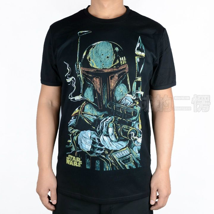 >> Click to Buy << Unisex Star wars boba fett sketch cotton breathable t shirt tee T-shirt  #Affiliate