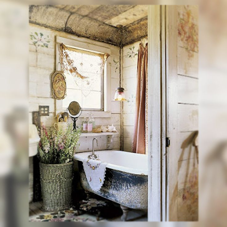 Shabby chic bathrooms vintage the vintage store - Banos shabby chic ...