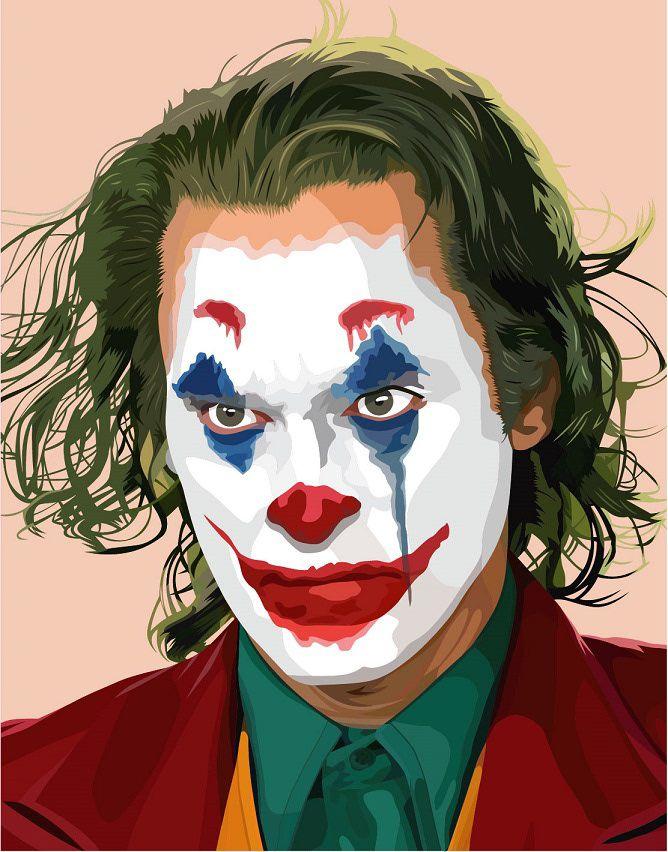 Joker Joaquin Phoenix On Behance Joker Drawings Joker Art