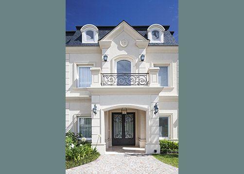 1000 images about fachadas on pinterest san diego - Casas estilo frances ...