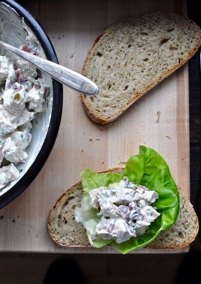 Serrano Ham and Artichoke Chicken Salad Recipe   ¡HOLA! JALAPEÑO