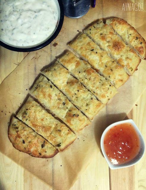 AynaGöz.: Boğaz Mevzusu /Kekikli Peynirli ekmek dilimleri
