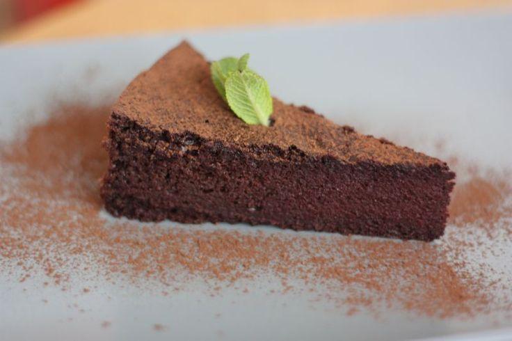 koláč z řepy a čokolády