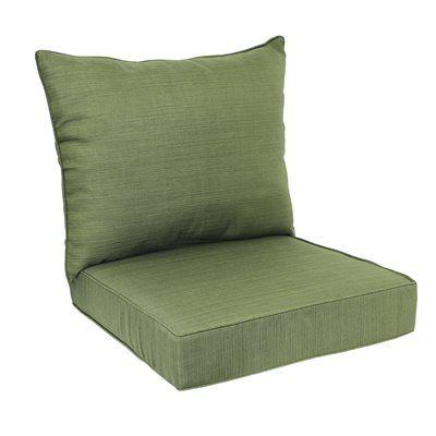 Allen Roth 2 Piece Deep Seating Chair Cushion Set