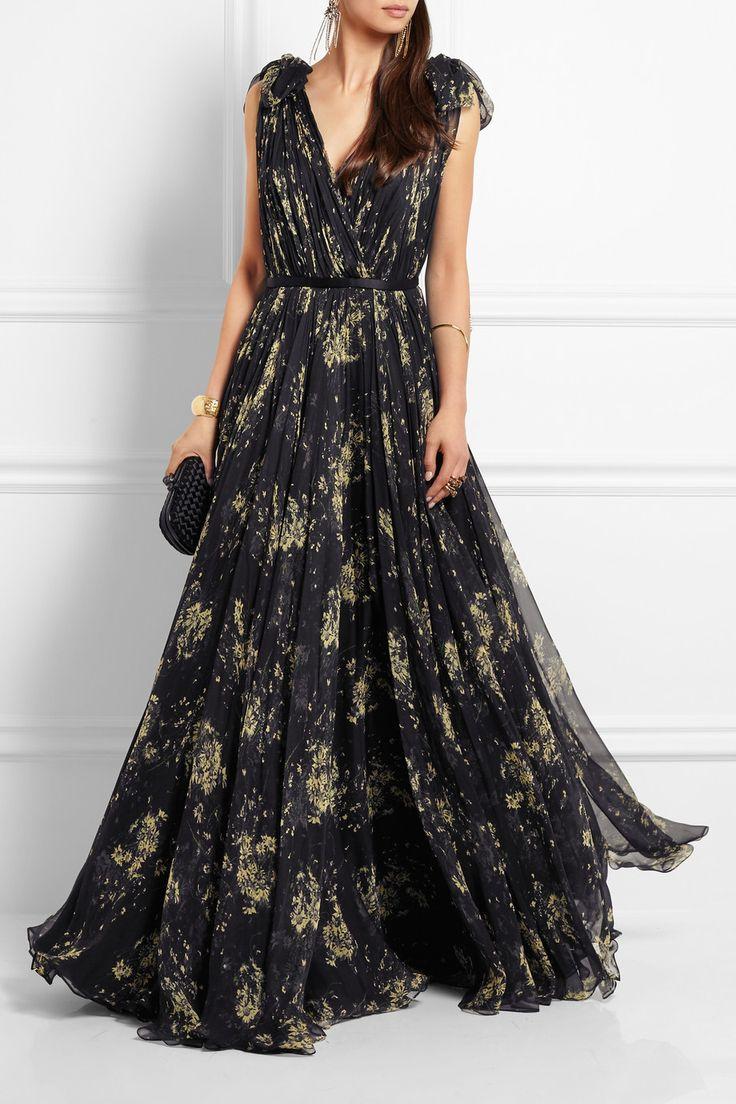 Alexander mcqueen black and gold dress for Alexander wang wedding dresses
