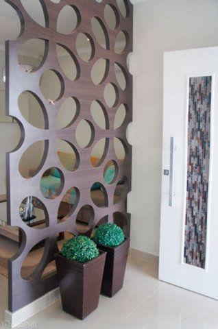 Hall de entrada projetado por Natália Dias Barroso.