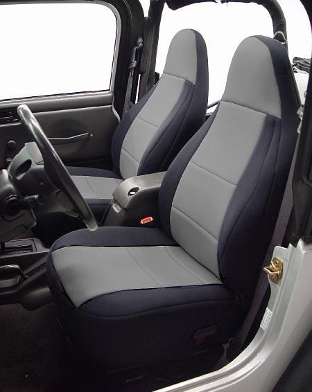 Neoprene Jeep Seat Covers >> All Things Jeep - Neoprene Front Seat Covers for Jeep ...