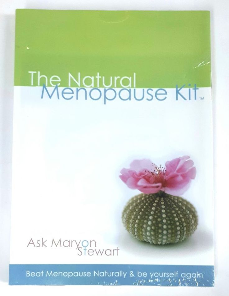 The Natural Menopause Kit: Beat Menopause and Be Yourself Again - Maryon Stewart | eBay