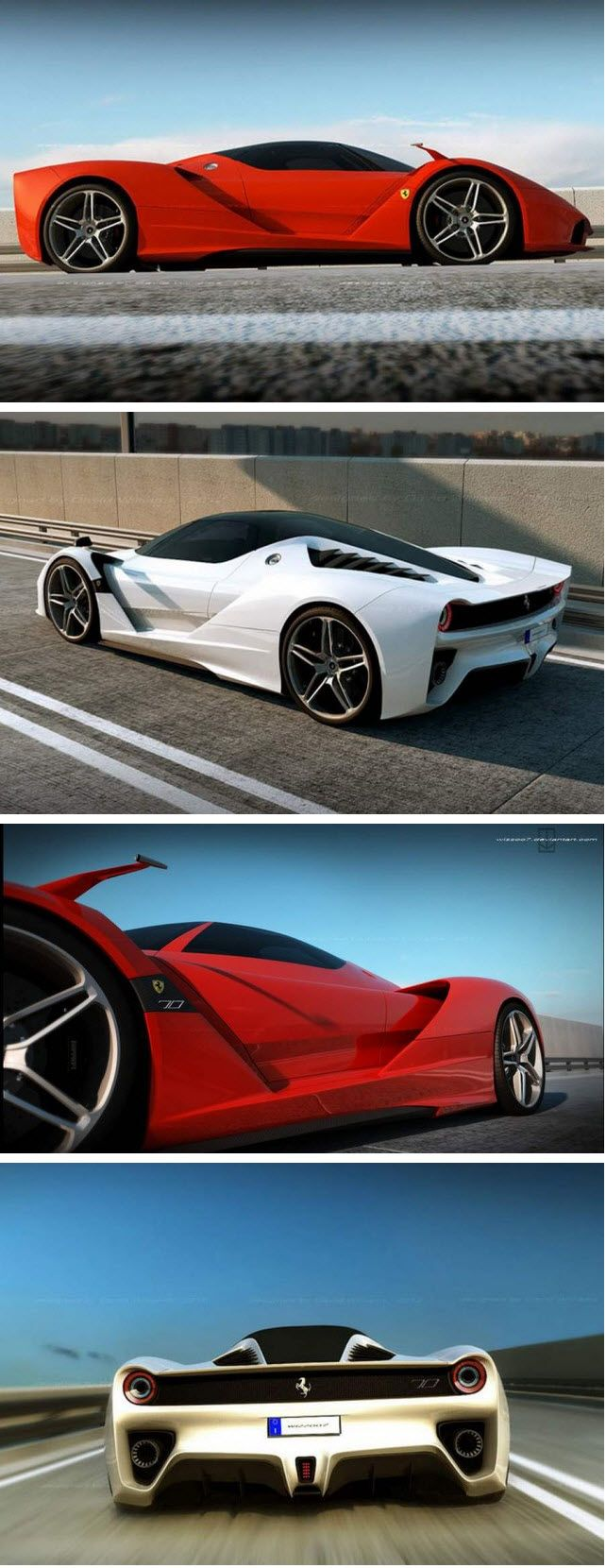 Ferrari F70 Hybrid concept