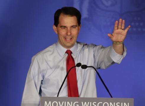 Wisconsin Gov. Scott Walker (He's got guts)