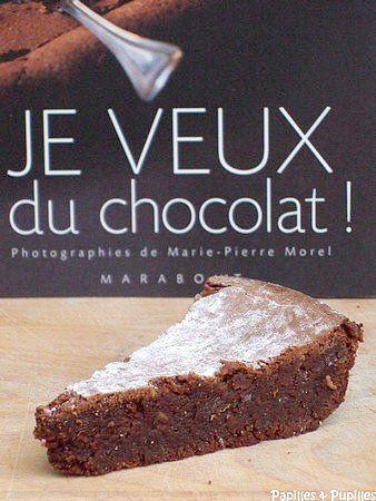 Le gâteau au chocolat fondant de Nathalie par Trish Deseine