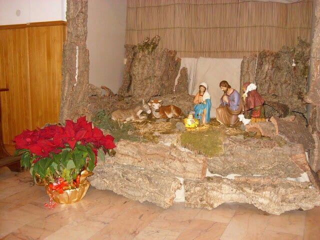 Presepe nella chiesa di Santa Chiara, Oristano.