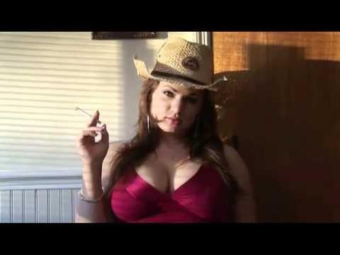 big boobs and cigarettes