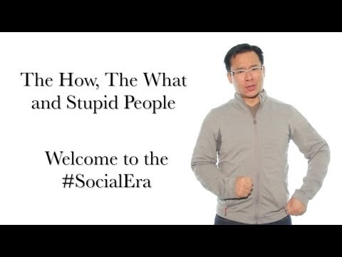 Welcome to the #SocialEra - The How, The What and Stupid People #yyc #asdincyyc #socialmedia #sm #business #strategy #leadership