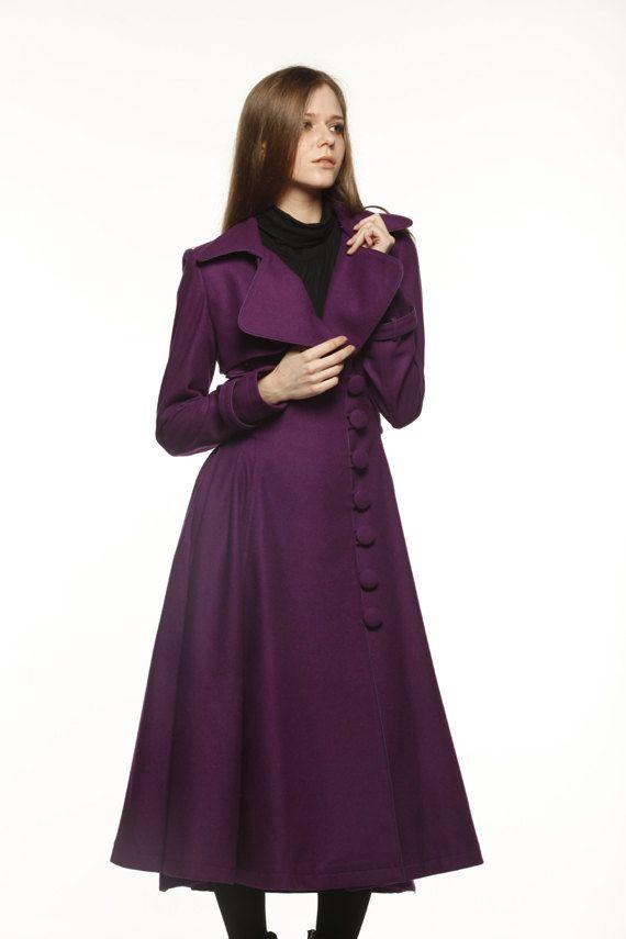 Coats, Good news and Purple dress on Pinterest