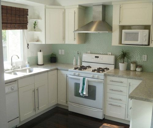 Grey Kitchen Cabinets And White Appliances: 29 Best Images About Kitchen With White Appliances On Pinterest