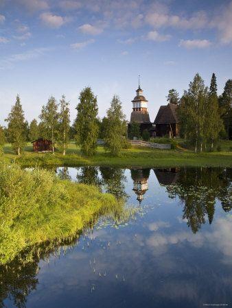 Unesco Old Wooden Church, Petajavesi, Near Jyvaskyla (Finland)
